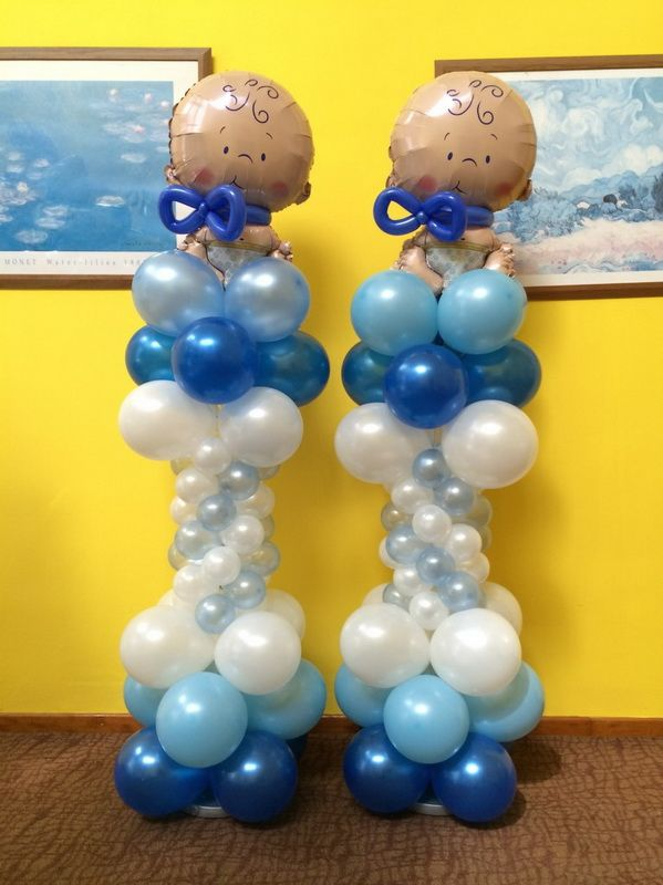 107 Best Images About Baby Shower Balloon Decor On
