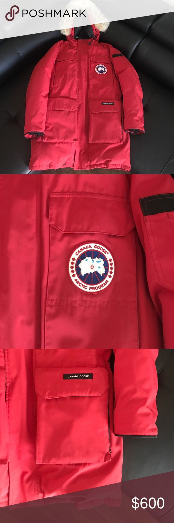 Canada Goose Parka Red Canadian Goose Parka Canada Goose Jackets & Coats Puffers