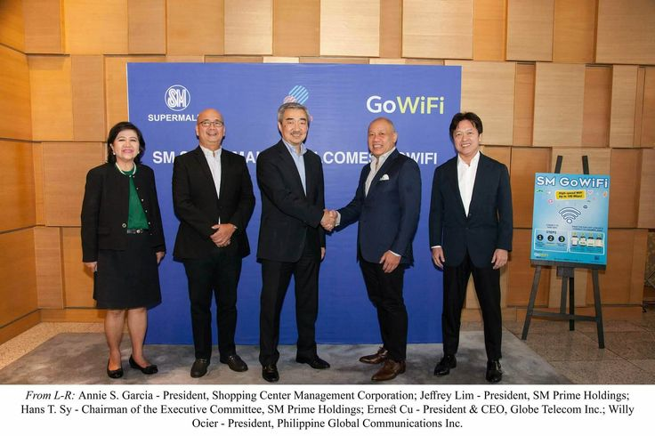 SM Supermalls Gets Free Internet Boost From Globe