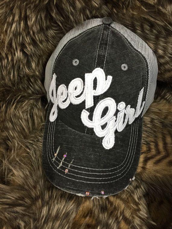 Chapeau fille de Jeep vous choisissez la par redbranchcreations
