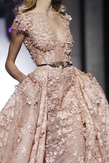 #amazing #details Zuhair Murad Spring Summer 2015 Haute Couture
