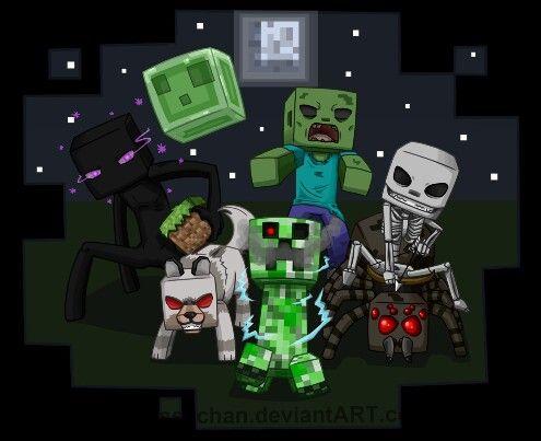 25+ best ideas about Minecraft mobs on Pinterest | Minecraft party ...
