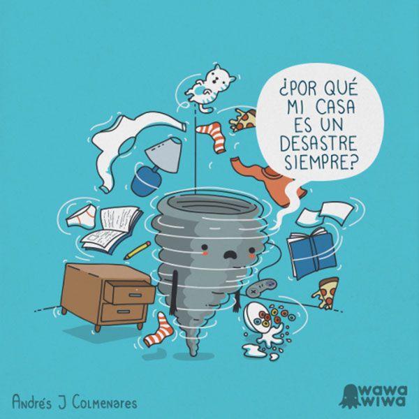 Mi casa es un desastre. #humor #risa #graciosas #chistosas #divertidas