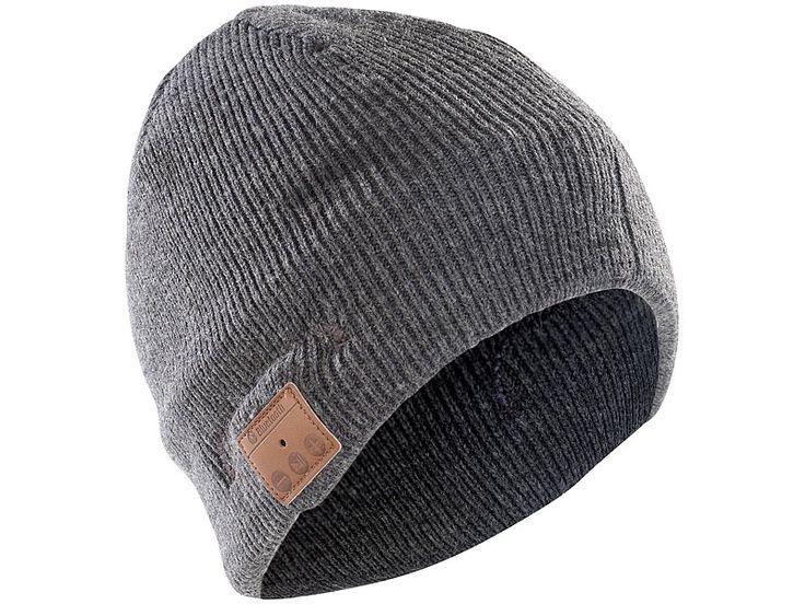 Callstel Bluetooth Beanie-Mütze mit integriertem Headset (Bild 1)