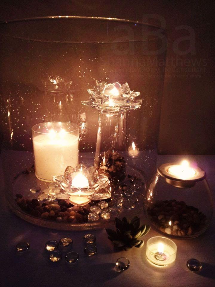 Majestic Hearth Hurricane with lotus garden. #thatflaminglady #shanna #lotus #zengarden #hurricanes #candles #aburningambition #PartyLite
