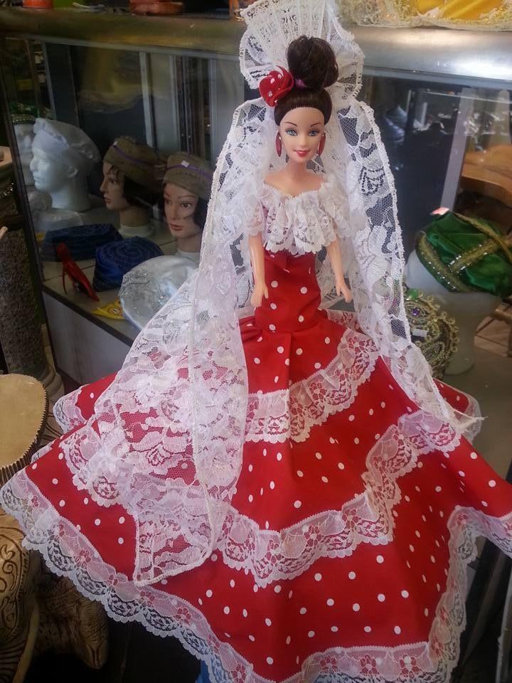 gypsi doll,muneca gitana,muneca espanola flamenco ...