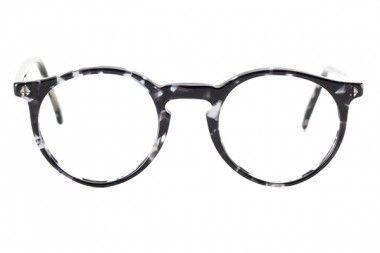 Lenski Pantobrille aus grauem Acetat, hergestellt in Österreich, Brille für Damen und Herren in grau, versandkostenfrei zur Ansicht bestellen