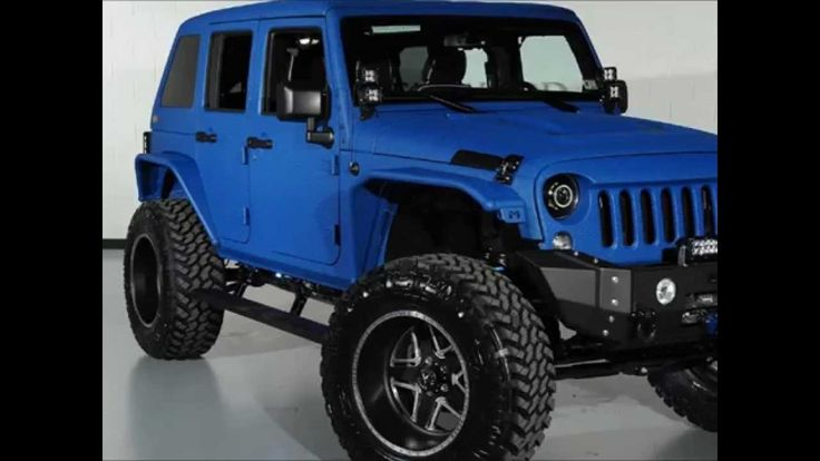 2014 Lifted Jeep Wrangler Unlimited Kevlar Coated http://www.onlyliftedtrucks.com