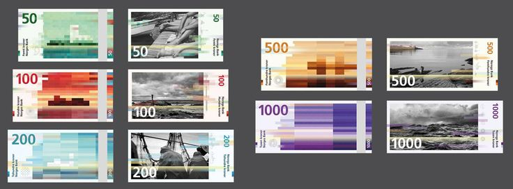 Linked: Norway's New Banknotes