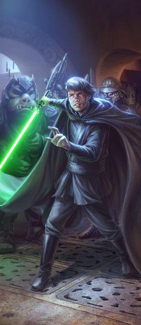 Luke Skywalker /by Chris Trevas #StarWars #art