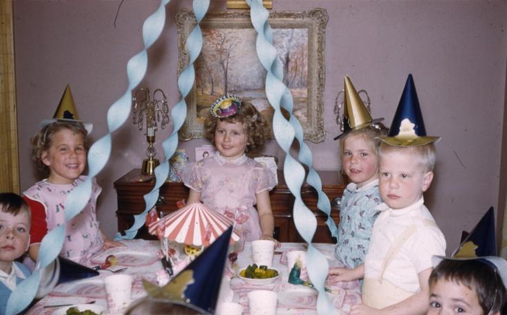 Vintage birthday parties!