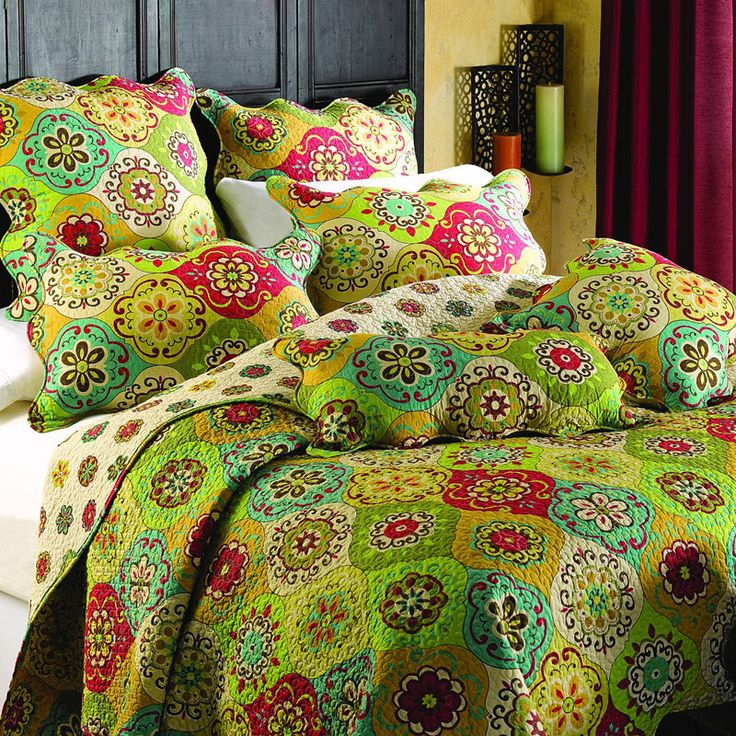Amercian Country Cotton Bedding Set Bed Cover Vintage