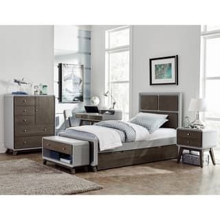 Shop for Hillsdale East End Grey Wood Panel Twin Bed with Trundle. Get free delivery at Overstock.com - Your Online Furniture Outlet Store! Get 5% in rewards with Club O! - 24359362