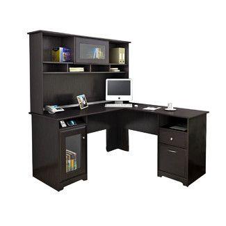 Red Barrel Studio Capital Computer Desk with Hutch