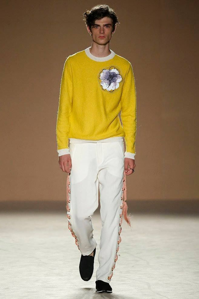 Samuel Alarcón Spring-Summer 2017 - 080 Barcelona Fashion #mensfashion