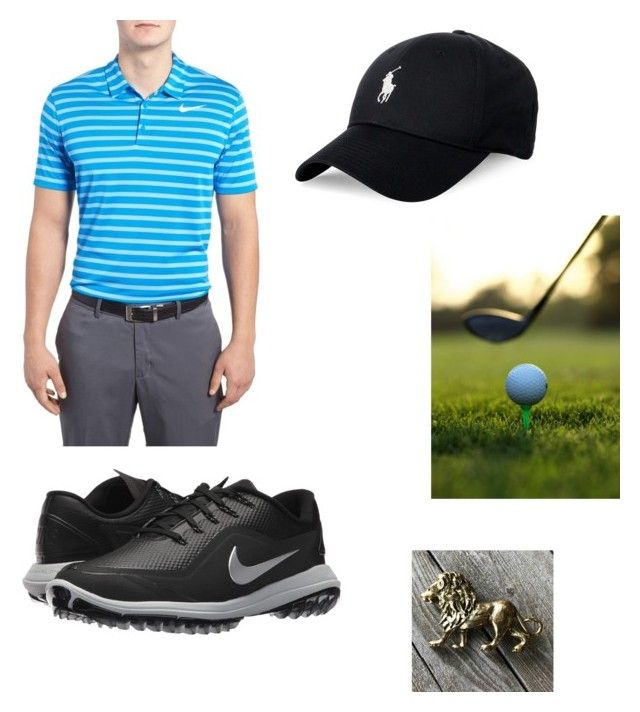 """""""Orion"""" by life-is-a-runway ❤ liked on Polyvore featuring NIKE, Polo Ralph Lauren, Nike Golf, men's fashion and menswear"""