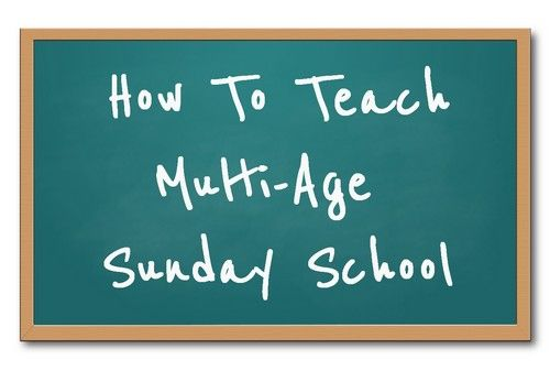 Teaching multi-age Sunday School can be a challenge, read our tips to get started right.