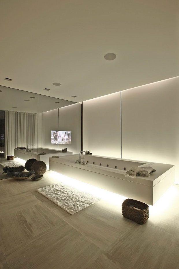 Une salle de bain luxueuse !