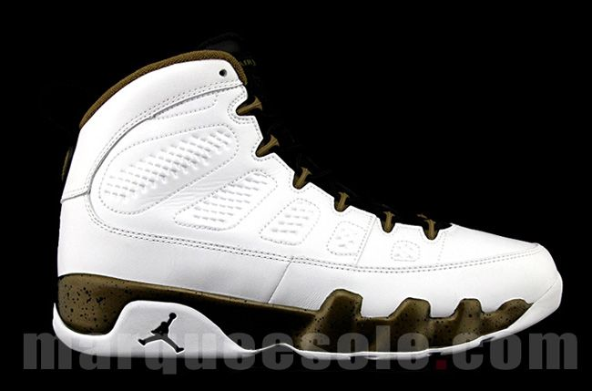 "Preview: Air Jordan 9 Retro ""Militia Green"""