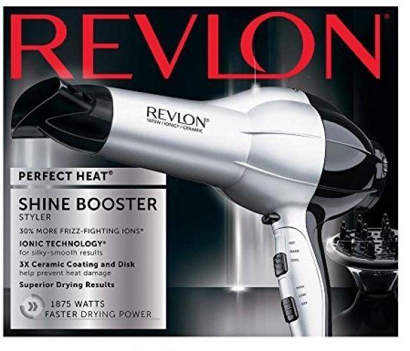NEW! Revlon 1875W Tourmaline Ceramic FRIZZ CONTROL Hair Blow Dryer with Diffuser #revlon #frizzyhair #professionalhairdryers #hairstylingtools