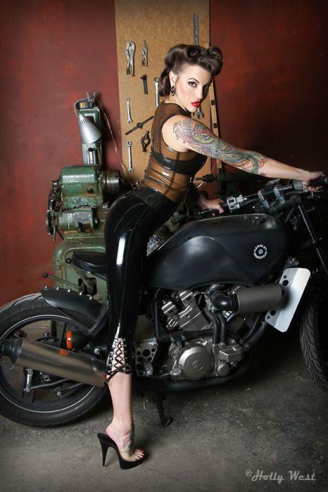 1000 ideas about moto motard on pinterest mottos for Biker chick tattoos
