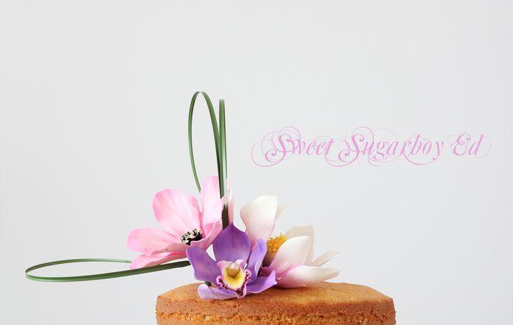 Ikebana Inspired Cake (Flowers) 2014