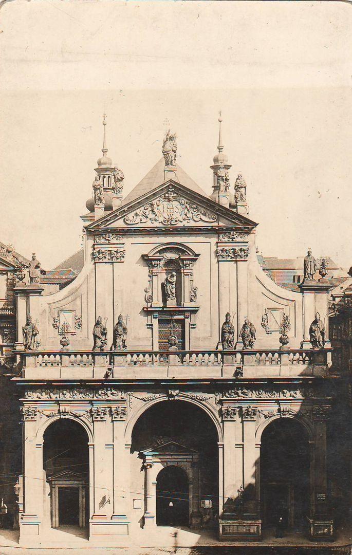 Reach, Zikmund - Kostel Sv. Salvátora na Křižovnickém náměstí (The Church of St. Salvator on Křižovnik Square), gelatin silver print