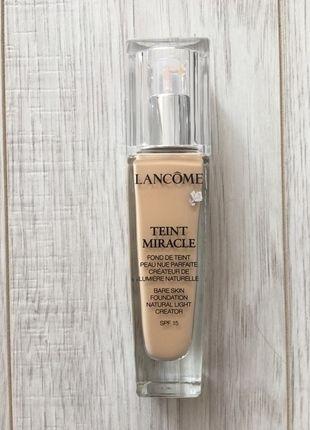 Kup mój przedmiot na #vintedpl http://www.vinted.pl/kosmetyki/kosmetyki-do-makijazu/12594920-nowy-fluid-lancome-teint-miracle-markowy