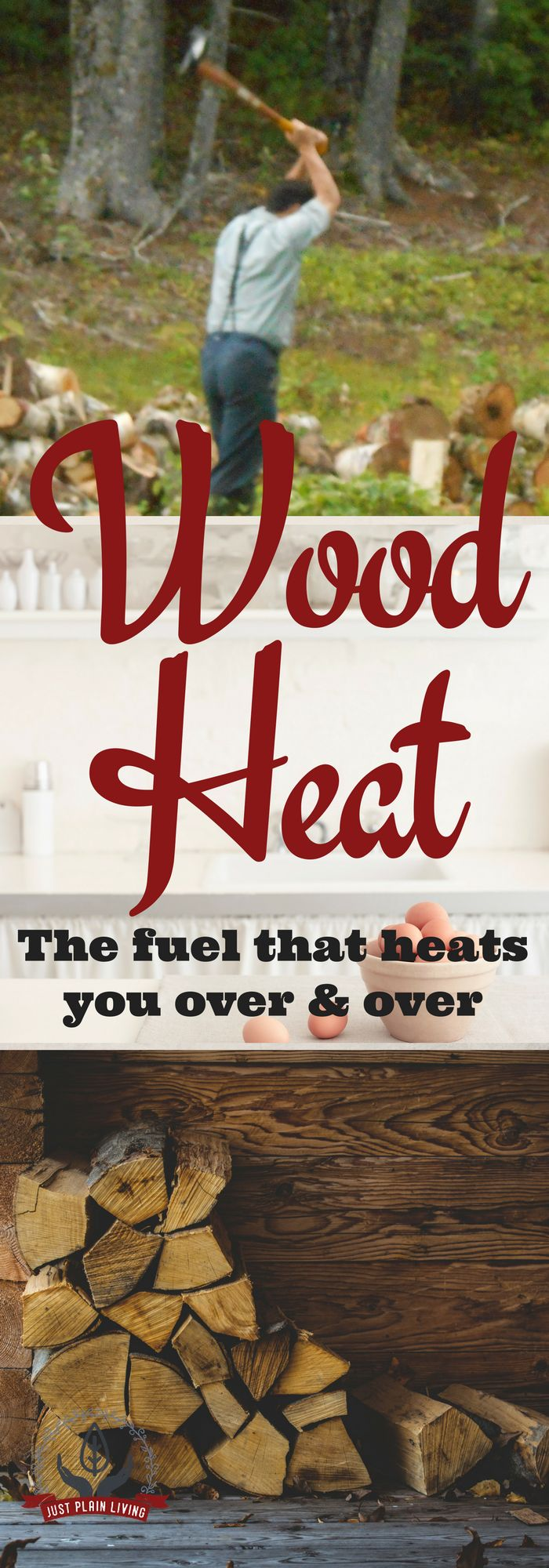 Living With Wood Fuel via @justplainmarie