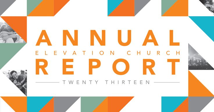 The  Elevation Church Annual Report With Pdf Downloads To