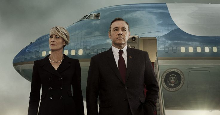 'House of Cards' Season 3 Poster: The Underwoods Are Back -- Francis and Claire Underwood are seen departing Air Force One in the first motion poster for 'House of Cards' Season 3, on Netflix soon. -- http://www.tvweb.com/news/house-of-cards-season-3-poster