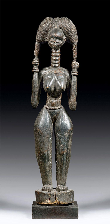 Figure from the Temne people of Sierra Leone   Wood