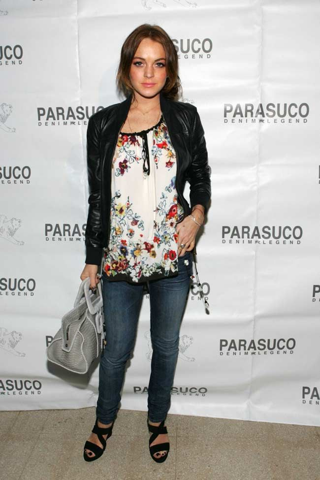 Parasuco - Lindsey Lohan - New York store - opening party guestlist