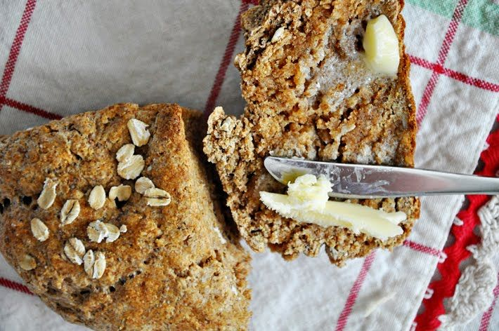 """irish brown bread...fell in love with it while in ireland for 3 months...but very hard to find an authentic recipe, this one is pretty darn close """"to be sure"""" ;)"""