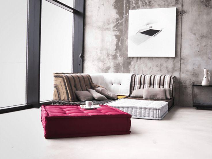 17 mejores ideas sobre cojines de suelo en pinterest for Sofa hecho de cojines