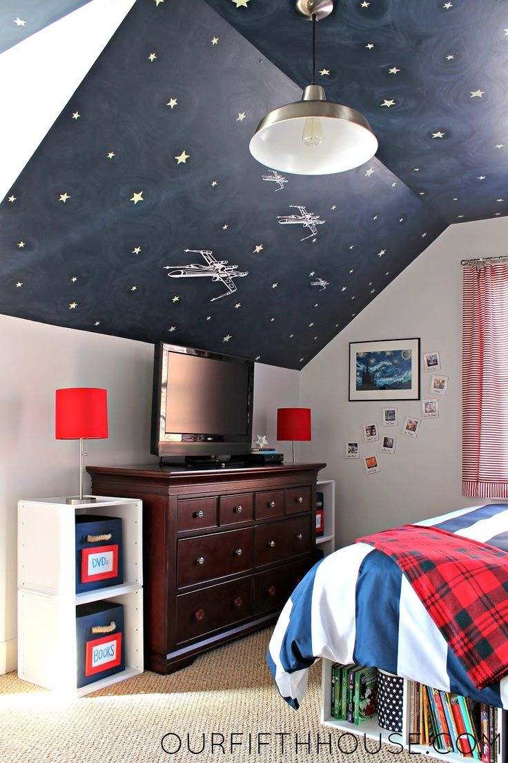 pinterest bedroom star wars | our fifth house: My Star Wars Loving Boy's ... | Star Wars Bedrooms