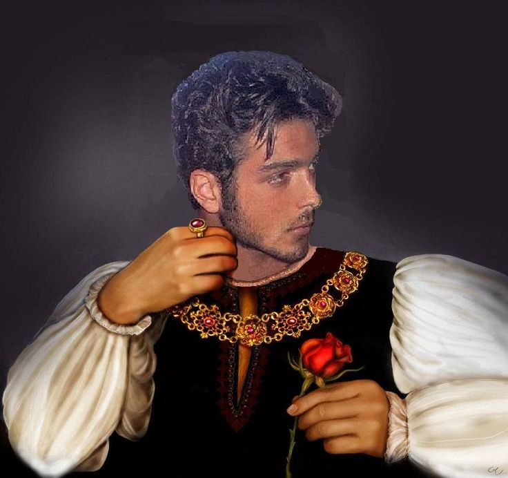 "Gianluca as Italian prince, Romeo of ""Romeo and Juliet"""