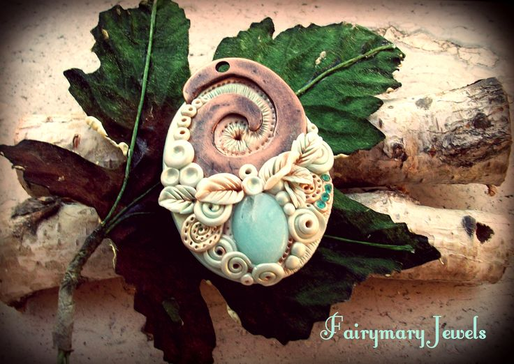 Copper and amazonite cameo https://www.facebook.com/pages/Fairymary-Jewels/208528805873162?sk=info&tab=page_info http://www.etsy.com/it/shop/FairymaryJewels?ref=si_shop