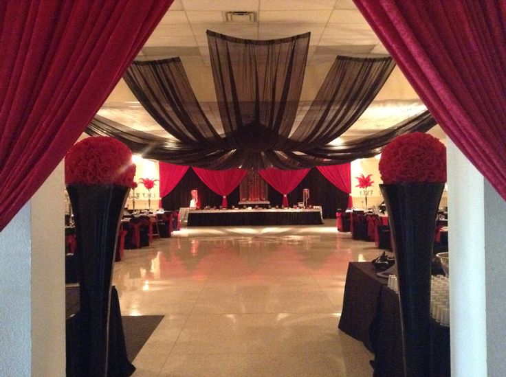 Beautifully decorated and ready for Imperio's bride and groom