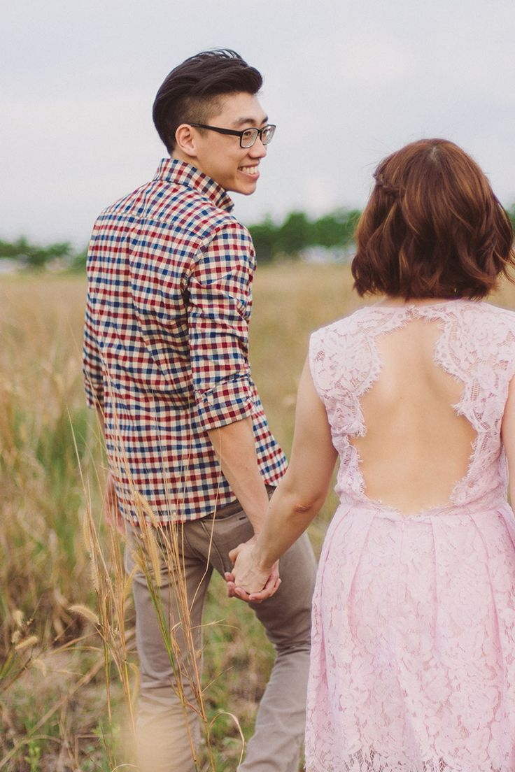 Audrie and Eugene's Dreamy Outdoor Pre-Wedding Photography Singapore