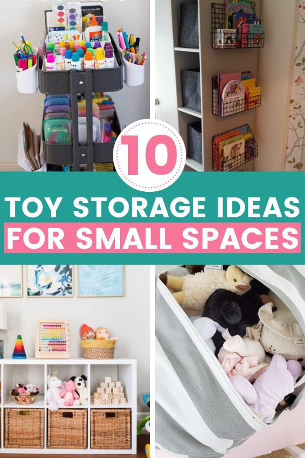 Toy Storage Ideas For Small Spaces Mommyhooding In 2020 Toy Storage Small Space Storage Toy Storage Organization