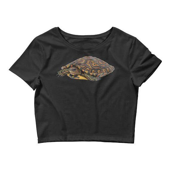 https://www.etsy.com/listing/567502724/wood-turtle-womens-crop-tee