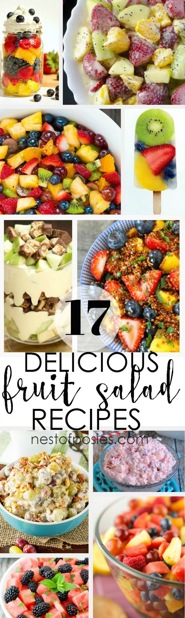 17 Delicious & Refreshing Fruit Salad Recipes
