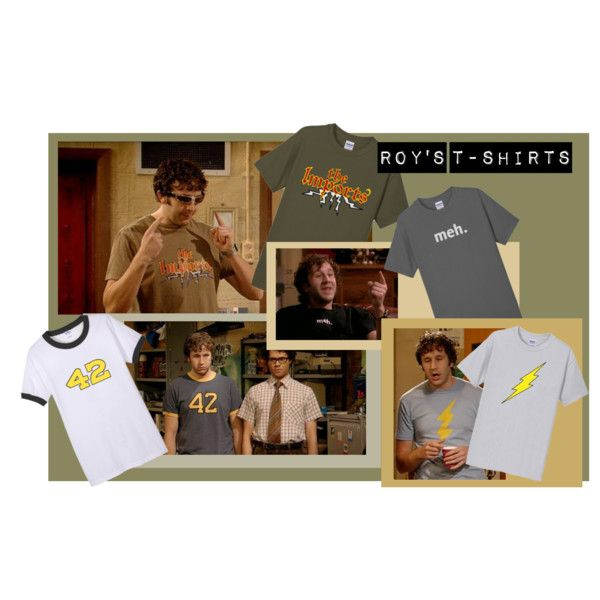 """""""Roys T-Shirts (The IT Crowd)"""" by fibers on Polyvore"""