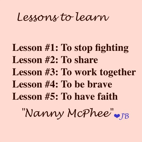 seems like good lessons to me ^^