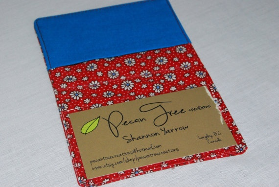 Card Holder Wallet by PecanTreeCreations, $12.00