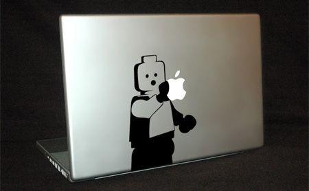 Lego Man Apple