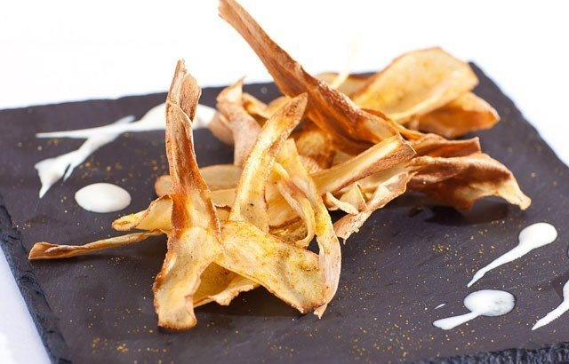 Curry Salted Parsnip Crisps Recipe