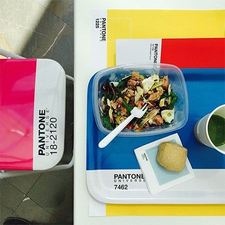 Pantone Themed Cafe