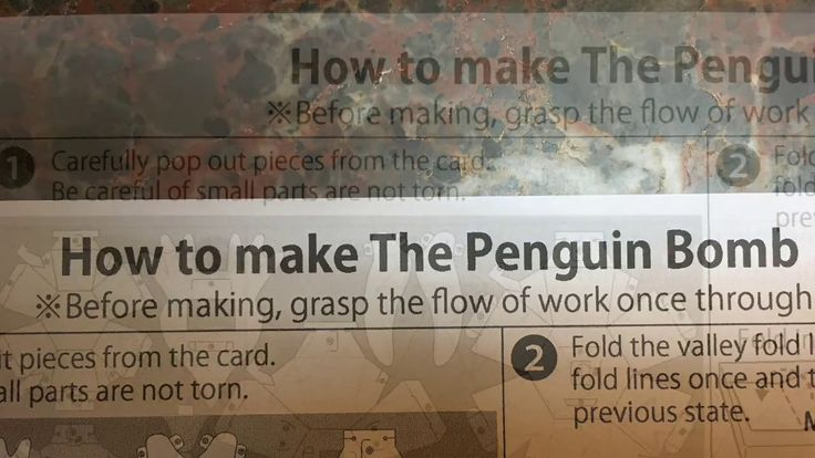 how to make a paper penguin youtube